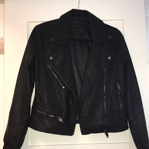 Blank NYC leather jacket